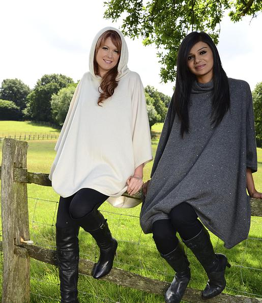 The Cashmere Sale Ponchos